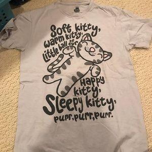 Big Bang theory cat shirt